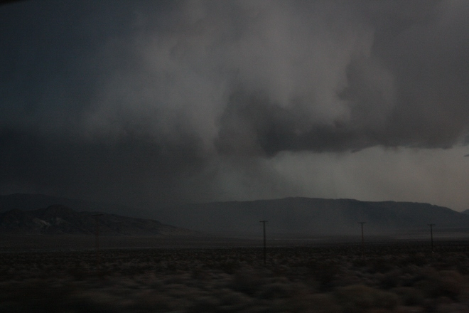 I love this photo of a storm rolling into Death Valley. Oh, wasn't that an exciting drive.