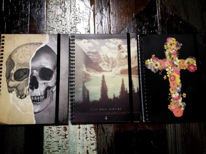 First date notebooks. A fairly good representation of the new novel.