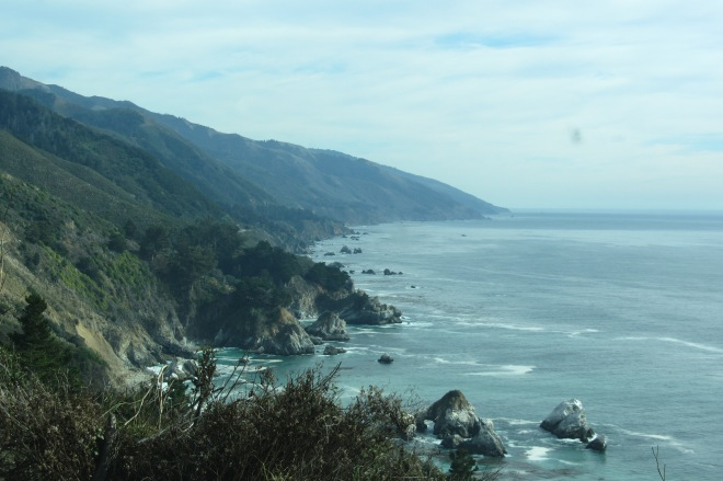 Highway 1, California. Enjoying the journey.