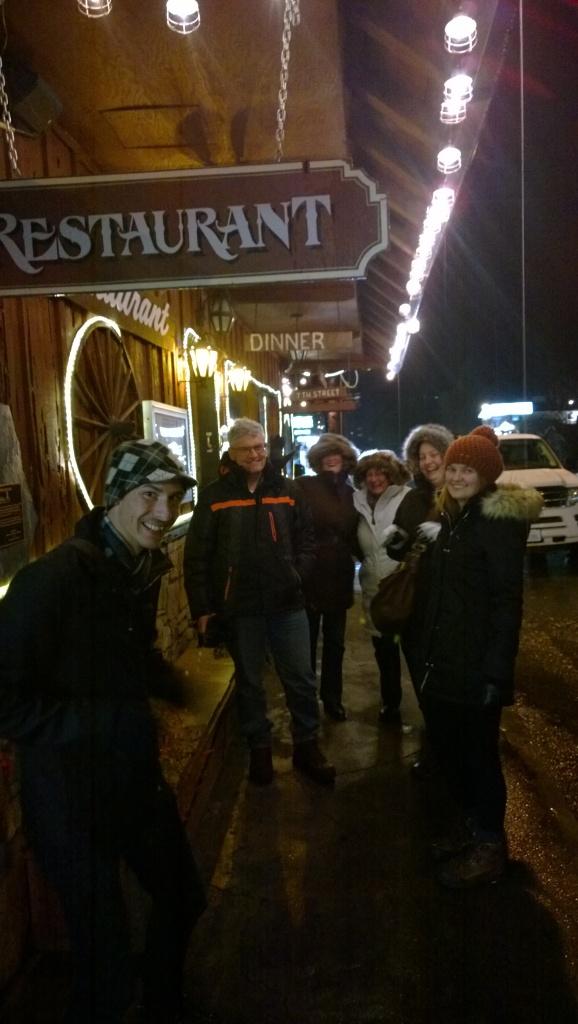 Dinner in Mariposa
